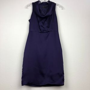The Limited  cowl neck sleeveless cocktail dress 0